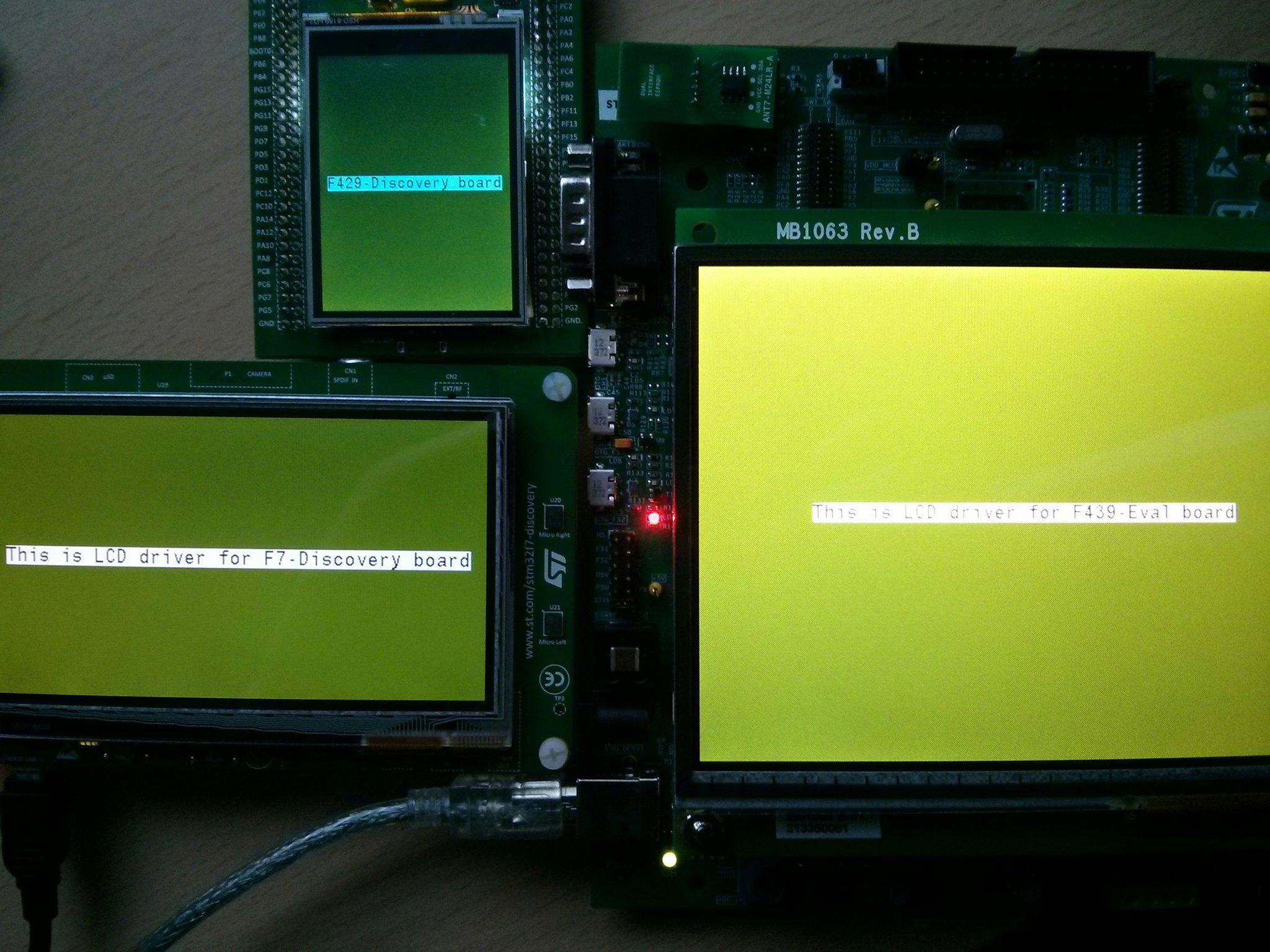 HAL library 12- LCD for STM32Fxxx - STM32F4 Discovery