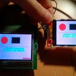 One the left is LCD on STM32F429 Discovery board and on the right is LCD shield from eBay.
