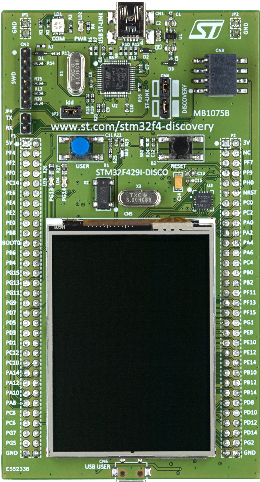STM32F429I-Discovery board