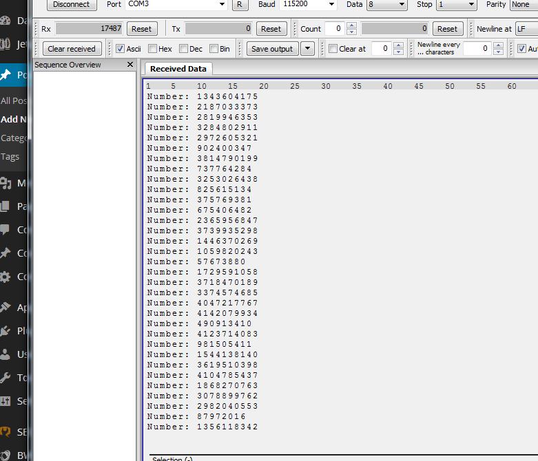Library 22- True random number generator for STM32F4