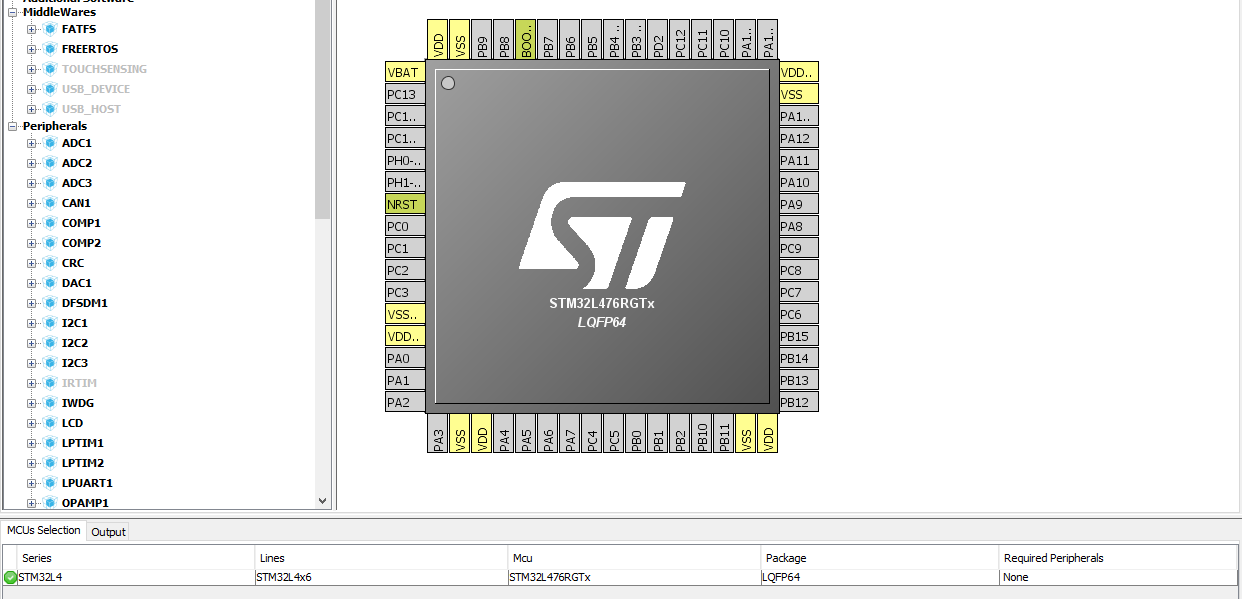 Manage embedded software libraries with STM32CubeMX - STM32F4 Discovery