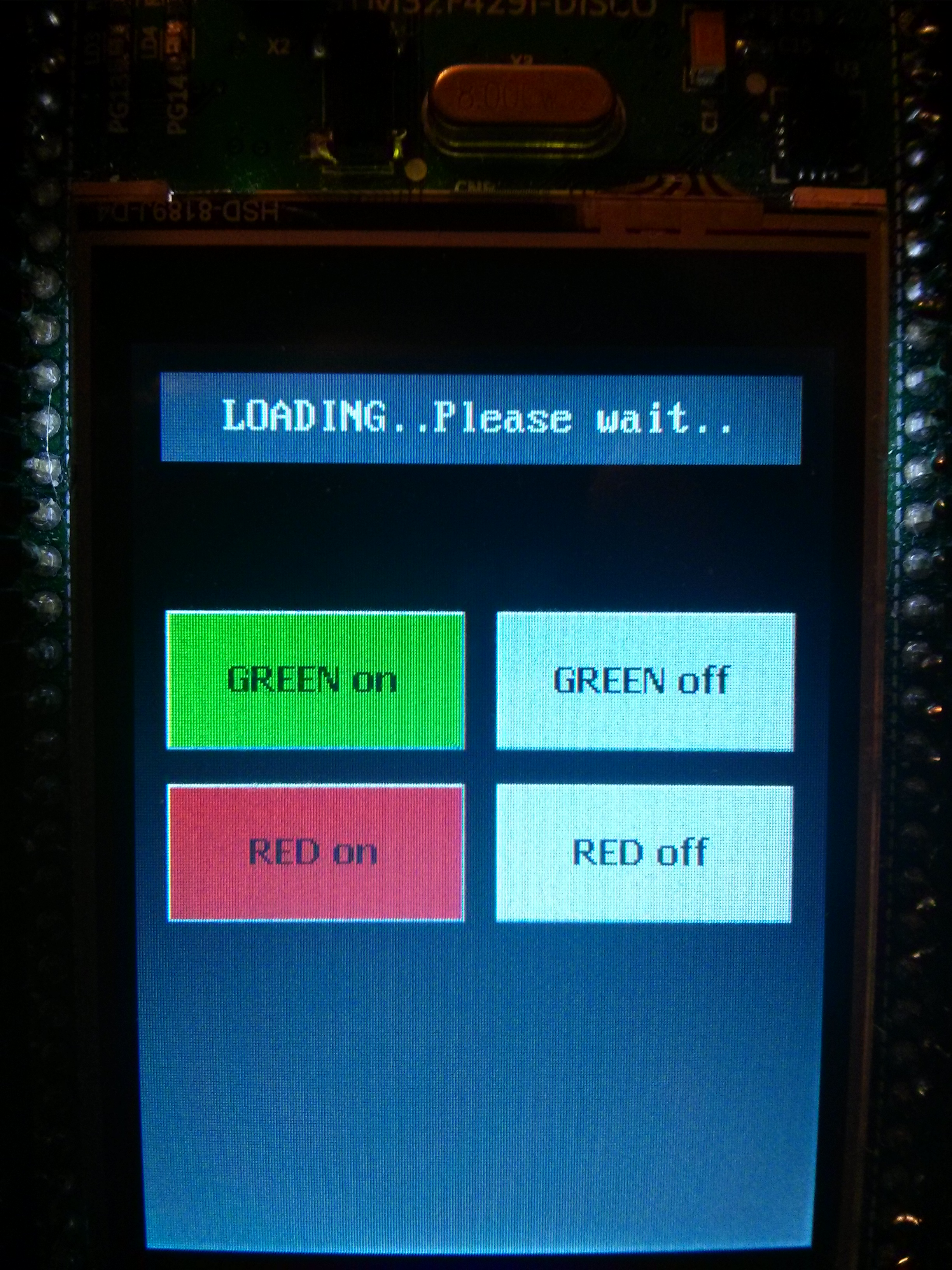 STemWin on STM32F429-Discovery board - STM32F4 Discovery
