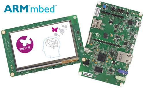 First STM32F7xx libraries are out! - STM32F4 Discovery